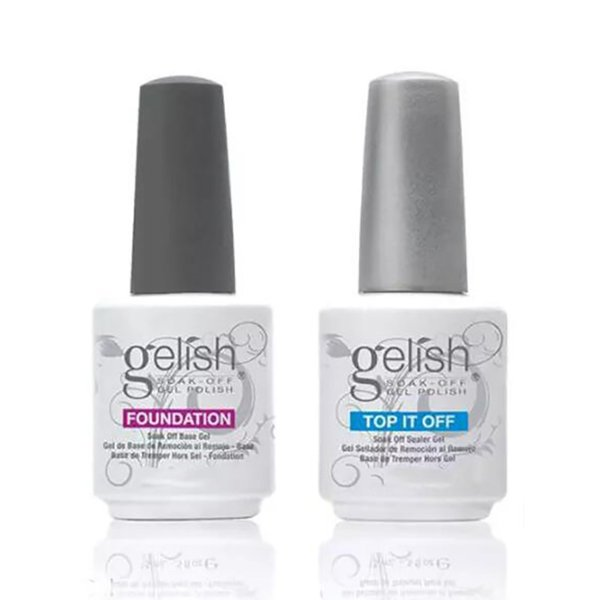 Top Quality Soak Off Nail Gel Polish For Nail Art Gel Lacquer Led/uv Gelish Base Coat Free DHL 411