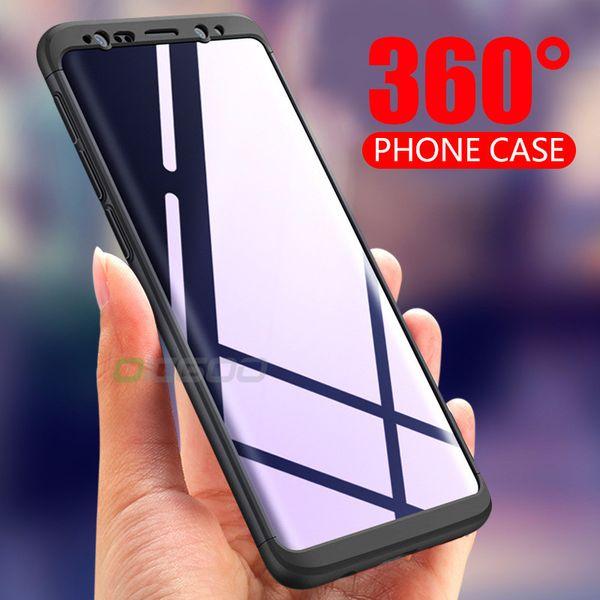 2018oicgoo luxus 360 grad telefon case für samsung galaxy s8 s9 fällen s8 plus note 8 abdeckung fällen für samsung s9 plus s8 case coque