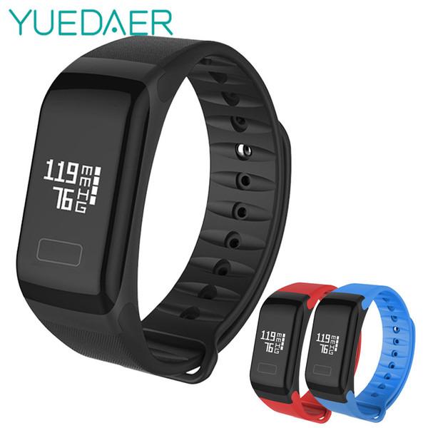 YUEDAER F1 Smart Bracelet Blood Pressure Watches Pulse Heart Rate Sleep Monitor Smartband Sports Fitness Health Tracker Bracelet