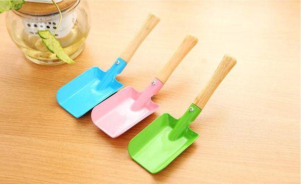 Mini Gardening Shovel Colorful Metal Small Shovel Garden Spade Hardware Tools Digging Garden Tools Kids Spade Tool Free Shipping