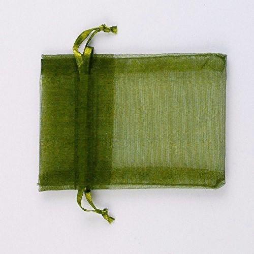Heiße Rabatte ! 100 stücke OLIVE GREEN Kordelzug Organza Geschenkbeutel 7x9 cm 9x12 cm 10x15 cm Hochzeitsfest Weihnachten Favor schmuck Taschen