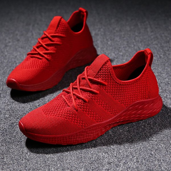 Rote Sneakers