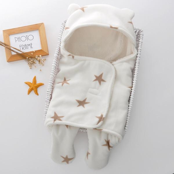 Compre Manta De Bebé Envolvente Saco De Dormir Bebé Doble Poliéster ...