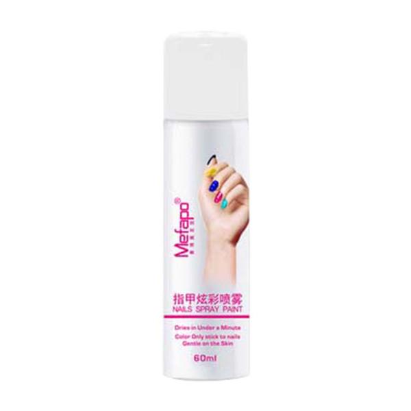 Pro estilos perfeitos 60ML spray de unhas polonês fácil de lavar spray de verniz Prego secagem rápida 2017 nagellak