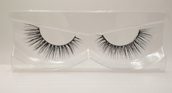 3D Mink False Eyelashes 100% Mink Fur Long Thick Hand-made Reusable Eyelashes Natural 1 Pair Pack MTL017