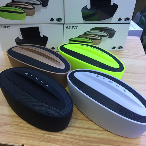 Nuevo Altavoz Bluetooth FM Audio TF USB Juego con soporte para teléfono Banco de energía Powerbank Teléfono móvil portátil Altavoces inalámbricos Gran sonido