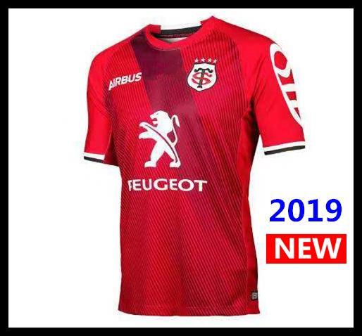 2019 Toulouse Rugby Jerseys League jersey Tluth camisa Ocio deportes Lentulus camisas S-3XL envío gratis