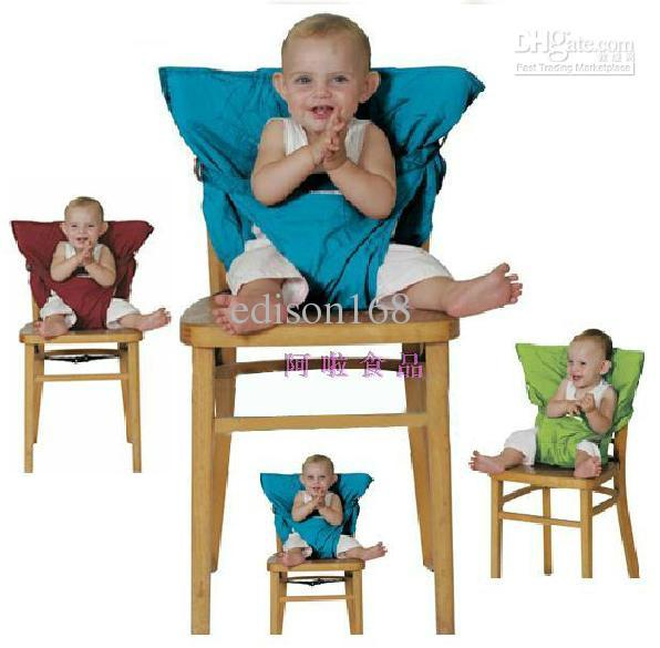 New Baby Eat chair Seat belt Portable Children kid babe dining chair belt seats 6 color 10pcs/lot edison168