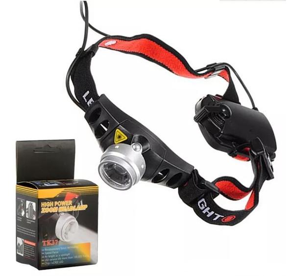 2000LM Q5 LED headlight Adjustable Focus LED Headlamp Head Light Torch Waterproof flashlight For Camping Fishing Hunting illuminate