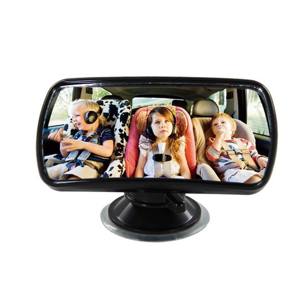best selling TS15 Convex Clear View Mirror 360 Degree Rotation Sucker Lock Car Interior Accessories Auxiliary Mirror Baby Kid Safety Care