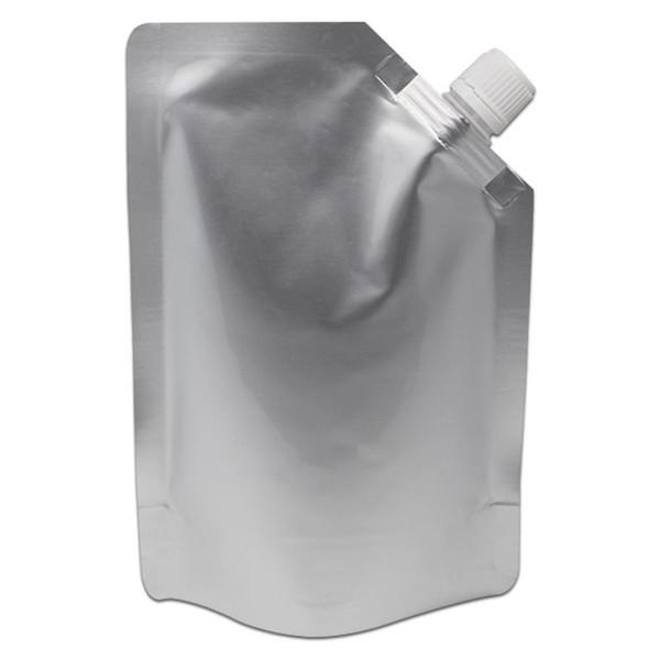 18*25cm 1000ml Jelly Doypack Pure Aluminum Foil Spout Bag Juice Drinking Liquid Storage Stand Up Spout Mylar Package Pouch