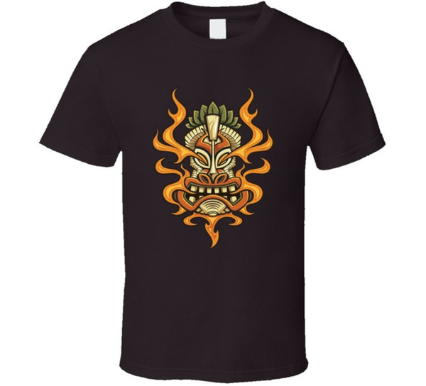 Tiki Kopf erster Mann Maori New Zealand native Fan-T-Shirt