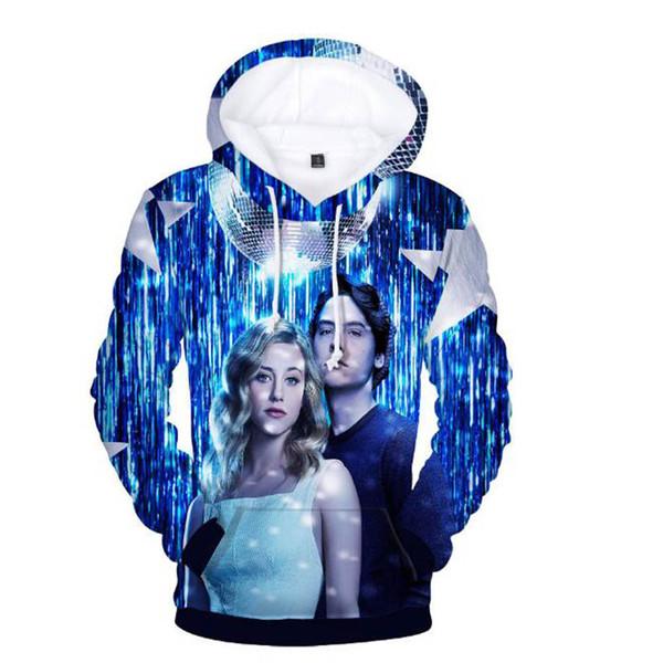 2018 Aikooki Riverdale 3D Hot Hoodies Men/women Harajuku Fashion Hip Hop 3D Print Men's Hoodies And Sweatshirt Riverdale Clothes