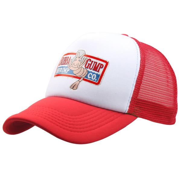 1994 BUBBA GUMP Kap SHRIMP CO. Kamyon Beyzbol Şapkası Erkek Kadın Spor Yaz Açık Snapback Şapka Forrest Gump Şapka ayarlanabilir