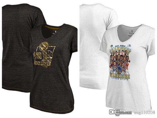 872706a3 Golden State Warriors Fanatics Branded Women's 2018 Finals Champions  Caricature Bank It In Gold Luxe Tri