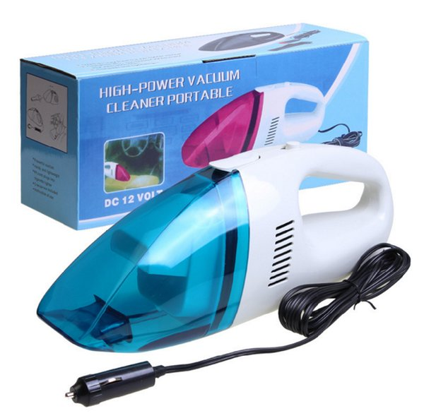 best selling New Auto Accessories Portable 5M 120W 12V mini Car Vacuum Cleaner Handheld Mini Super Suction Wet And Dry Dual Use Vaccum Cleaner