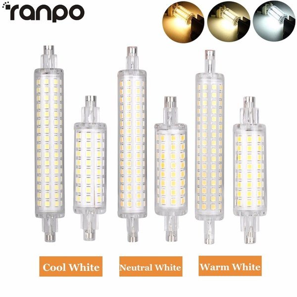 R7s 78mm 118mm Led Flood Light Bulb 2835 Smd 12w 16w Replacement