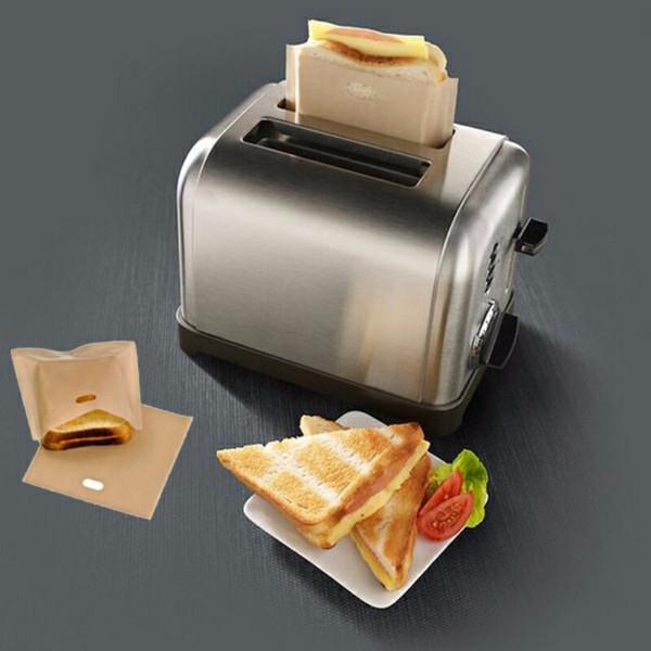 Bolsas para tostar Antiadherentes Toastabags resistentes al calor reutilizables, ideales para sándwiches de queso a la parrilla Pastelería para pizza,