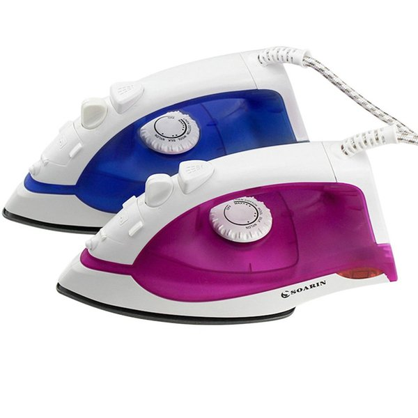 hot sale Mini Steam Ironing Machine Portable Electric Steam Iron With 3 Gear Teflon Soleplate Handheld Flatiron For Clothes