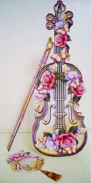 full Square Diamond Embroidery violin pattern Diamond painting Cross Stitch picture crystal needlework moasic flowers butterfly