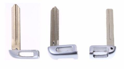 New Small Key Mechanical Smart Card Key Head Replacement For Hyundai IX35 IX25 Elantra Tucson Mistra Rena