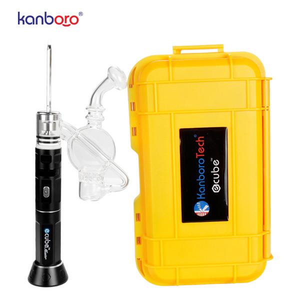 Kanboro Ecube воск испаритель сухая трава Vape Pen Ecig распылитель 1 8 6 5 0 батарея для инструментов Dab Rig