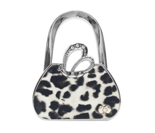 hooks for purses on wall.htm 2020 leopard print bag holder style foldable table hook purse  bag holder style foldable table hook