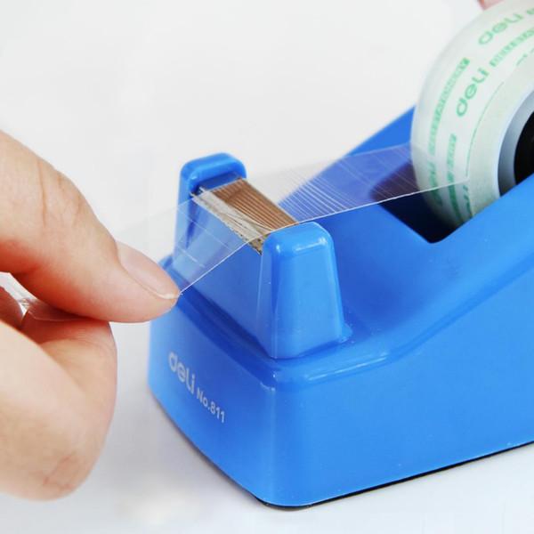 Deli 811 erogatore di nastro efficace per taglia nastro adesivo larghezza 18mm efficace