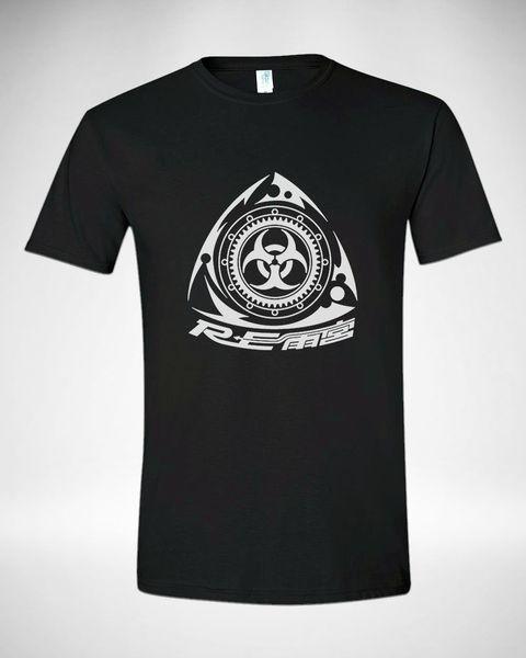 MAZDA DÖNER MOTOR RX-8 RX-7 YARıŞ ARABA LOGOSU T-Shirt Erkekler Boyut S M L XL 2XL