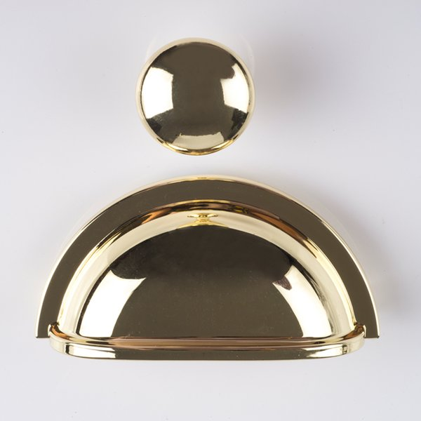 3 gold cup pulls drawer pull handle dresser pulls knobs handles