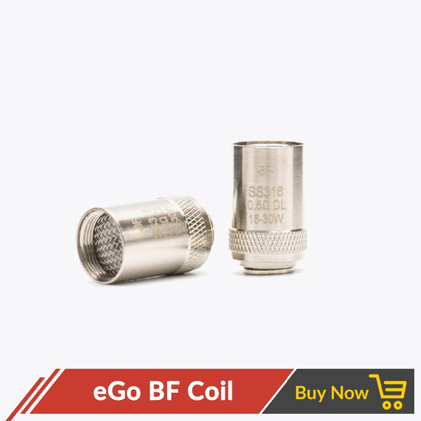 top popular eGO AIO BF SS316 Coil CUBIS Coil SS316 0.5ohm 0.6ohm for CUBIS Tank Cubis Pro eGO AIO  Cuboid Mini 2021