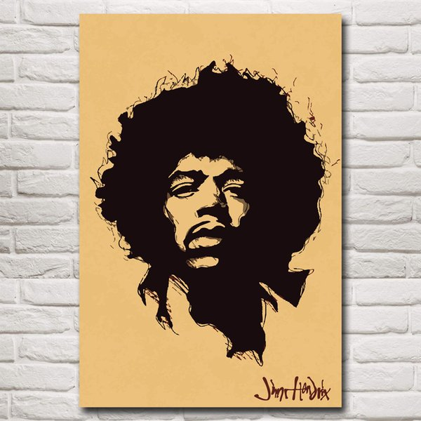 Musician Jimi Hendrix Singer Art Silk Wall Poster Print 12x18 16X24 20x30 24x36 32x48 Inches Home Decor Pictures Free Shipping