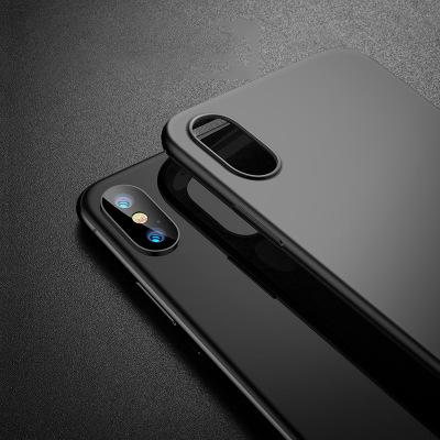 0.88MM Ultra Thin Phone Cover Cases froster TPU Flexible Anti-Scratch Anti-Fingerprint Camera Pretection Shock Proof Shell For iPhone X 7/8