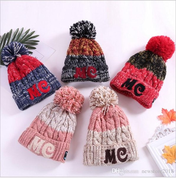Winter Warm Beanie 4.2 Bluetooth Hat Wireless Smart Cap Headset Headphone Speaker Couple Hat E259