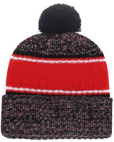 Hot sale Beanie All Teams Logo Sideline Cold Weather Graphite Official Revers Sport Knit Hat winter Warm Knitted Wool Cardinals Skull Cap