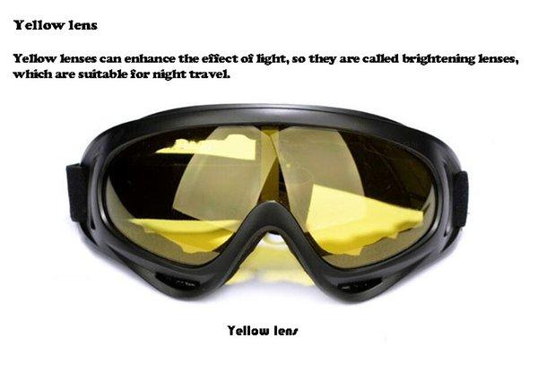 lente amarilla