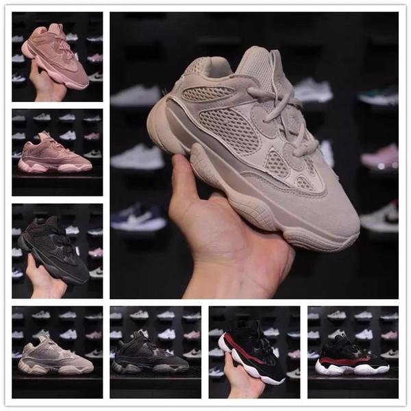 SPLY 500 крыс пустыни замши и сетки дышащий дети кроссовки Канье Уэст SPLY 500 Пустынная крыса демпфирование детская спортивная обувь