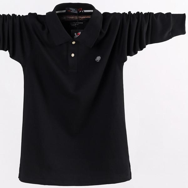 2018 neue Marke Herbst Männer Shirt 100% Baumwolle Casual Mode plus Dünger erhöhen Größe M-5XL Shirt Männer