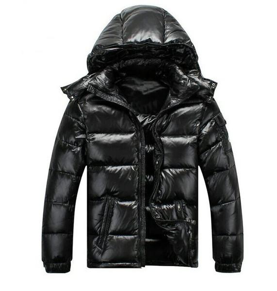 2018 Classic Fashion Men Women Casual Down Jacket MAYA Down Coat Mens Outdoor Warm Feather dress man Winter Coats outwear jackets parkas