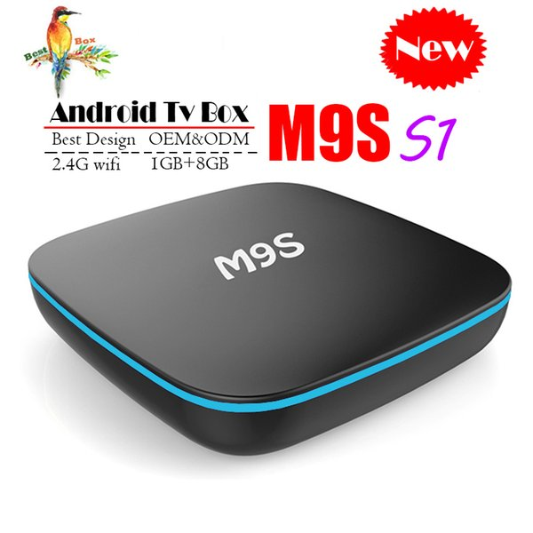 Best M9S T3 Allwinner H3 1G 8G Android 7.1 TV BOX Quad Core Ultra HD H.265 4K Stream Media Player Better Amlogic S905W H96 TX3 HK1 T95 S1
