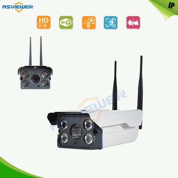 Double Antenna Waterproof Wireless IP camera WIFI 720P HD Digital Security Alarm Systems Motion Sensor Alarm Security Camera AS-IPW8506D