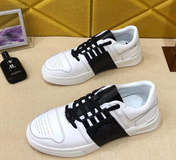 f53f1c6e399d New Designer image character Hot sale Brand Leather shoes Women Designer  sneakers Men Runners shoes Fashion