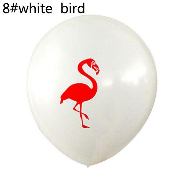 8 # pássaro branco