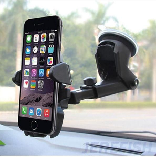 Evrensel Esnek Uzun Araba-şekillendirici Telefon Araç Tutucu Standı Desteği Telefon Voiture iPhone Samsung Xiaomi için Telefon Tutucu (Perakende)