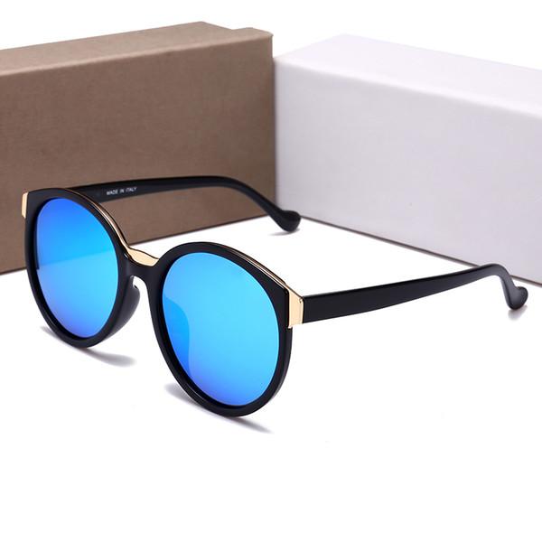 817375bb12d 55001 Round Riding glasses Luxury Men Women Brand Designer Retro Sunglasses  Big Frames Shade Sunglasses UV Protection Lens Summer Style