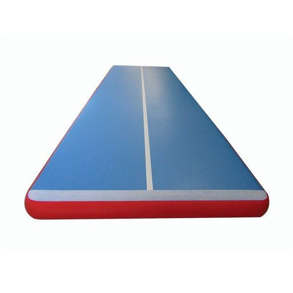 blau und rot