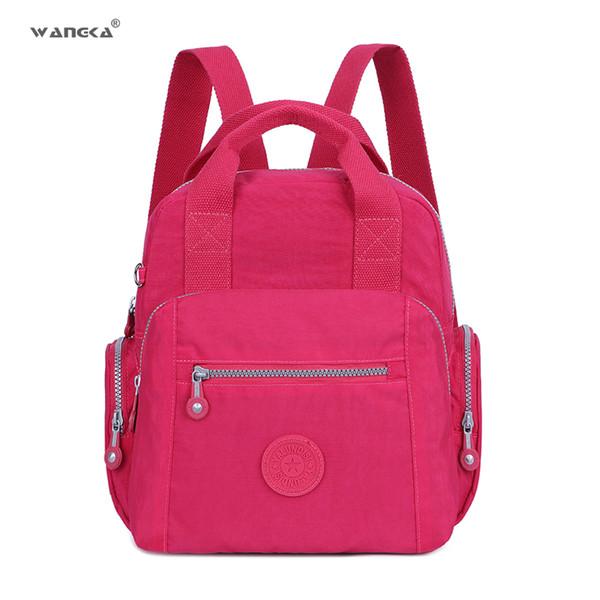 Ladies Backpack Travel Bagpacks Casual School Bookbags for Teenage Girls Solid Shoulder Rucksack Women Laptop Bag Hot Sale