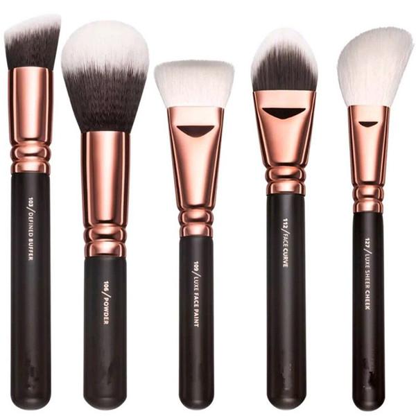 DHL Free New Brand Z-O-E-V-A Brush 15pcs/Set Professional Makeup Brush Set Eyeshadow Eyeliner Blending Pencil Cosmetics Tools With Bag