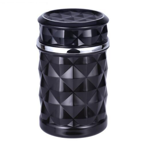 Wholesale Car Ashtray Smokeless Auto Cigarette Ash Holder with Blue LED Light for Car Cup Holder