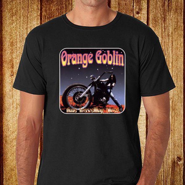 New Orange Goblin Heavy Metal Rock Band Men's Black T-Shirt Size S to 3XL